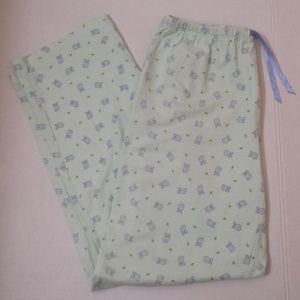 High Sierra owl pajama bottoms..size S
